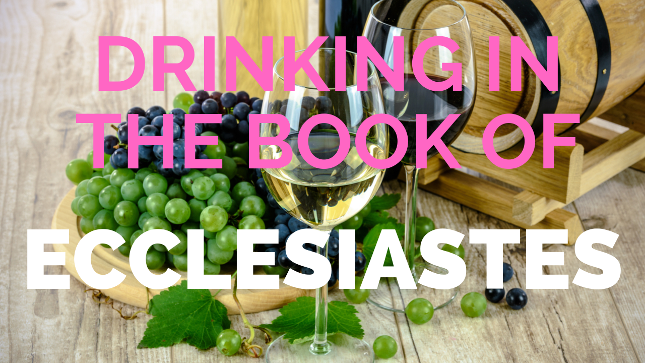 Drinking in the Book of Ecclesiastes: A Conversation with Rabbi Daniel Epstein