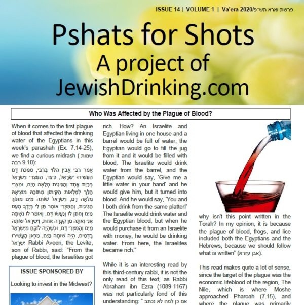 Pshats For Shots Parashah Sheet Up For Va'era