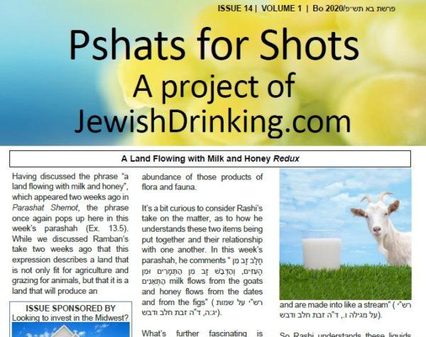 Pshats For Shots Parashah Sheet Up For Bo