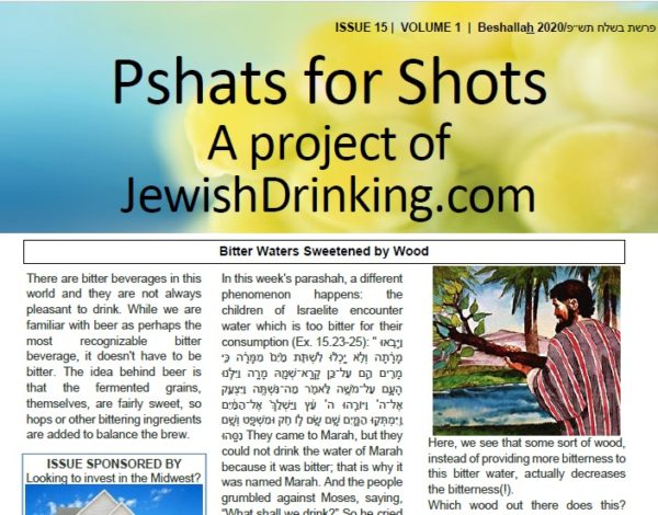 Pshats For Shots Parashah Sheet Up For Beshallah
