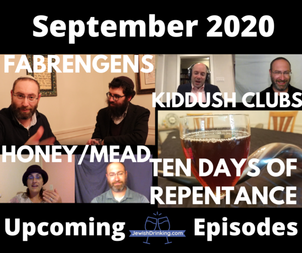 Upcoming Podcast & Video Episodes for September 2020