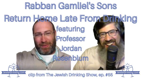 Rabban Gamliel's Sons Return Home From Drinking (Mishnah Berakhot 1:1) [Video]