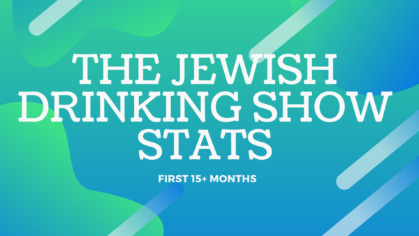 Stats for The Jewish Drinking Show in the First 16 Months